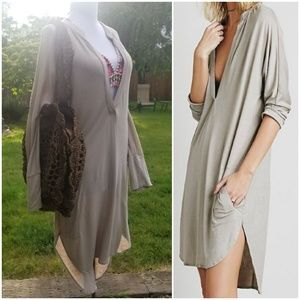 🆕️ Free People FP Beach Gallery Dress Taupe